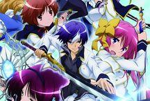 World break: Aria of curse for a holy swordsman