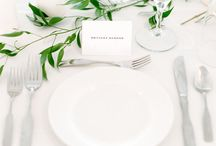 white on white table