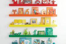 Kinderkamer / Wandlijsten