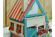 Doll Houses & quiet books