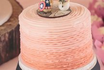 Superhero Themed Wedding at Wild Turkey Ranch / J+T's Wild Turkey Ranch wedding in Lebanon, Tennessee was glittery and prefect with fun pops of superhero!