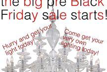Abni's LIGHTING / Pre Black Friday sale