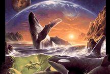 Illus / Environments 2 / Sci Fi Art + Fantasy Art / by チℓ ᵕ_ᵕ) w