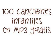 CANCIONES INFANTIL