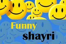Funny Shayari / Find new & latest collection on funny shayari in hindi or urdu. Send or Share hindi sher o shayri with your friends (girlfriend or boyfriend) - love SMS shero shayari.