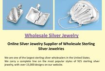 Wholesale Silver Jewelry / Visit our site http://www.sidneyimports.com/aboutus.asp for more information on Wholesale Silver Jewelry.Silver jewelry will never go out of fashion and it is traditionally preferred by most people looking to buy jewelry. For this reason it is widely sold by both wholesalers and retailers.Sterling silver jewelry is available in many sophisticated and modern styles which attracts many buyers.