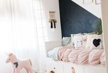 never stop dreaming / girls room inspo