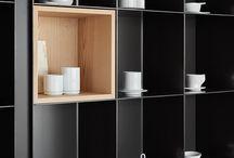 Living room shelfs