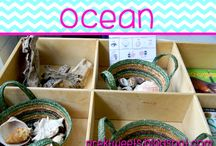Ocean / Ideas and resources for pre-k and kindergarten ocean study.