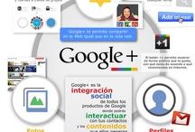 Gráficos - Redes Sociales y Periodismo / Gráficos elaborados por María Cecilia Rodríguez para Clases de Periodismo / by Cdperiodismo
