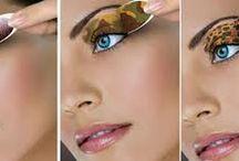 Maquillaje Instantaneo / Sombras, delineadores y labios instantáneos para lucir lo Ultimo en Maquillaje.