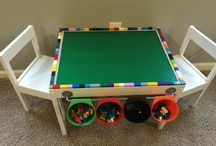 Lego Table for the Boyz