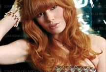 """Red World / There is a funny quote by Lucille Ball: """"Once in his life, every man is entitled to fall madly in love with a gorgeous redhead""""! So, here you are Red Hairstyles! Just to be ready! Choose the look you prefer! Scegli il tuo look!"""