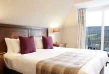 Balcony Rooms / The Balcony Rooms at Knockendarroch