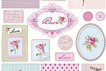 Lovely miniature printables for dollhouse