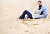 beach engagement shoot / by Lindsay Getz