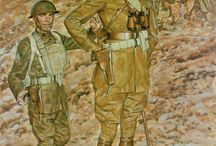 World War I paintings