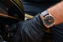 Winter, Whiskers and Watches / Men's Seasonal Fashion, Beard Inspiration and MVMT Watches. / by Luke Dean-Weymark