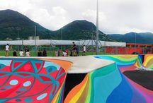 Exterior Skatepark