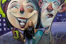 Streetart Tarragona / Streetart, graffity, urban art en kleurige kunstwerken in de Catalaanse provincie Tarragona en soms daarbuiten.