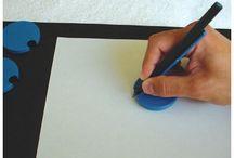 Adapted pen grip