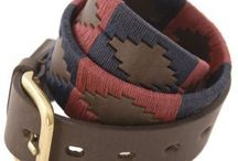 Pionerios Belts For Women / Genuine Argentinian Polo Belts
