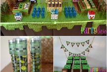 James' BDay Minecraft Party Ideas / by Daniela Dadante