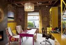 Work Spaces with charm / by Added Charm Home Staging