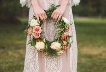 Bohemian wedding gowns / www.bridesofnorwayblog.com