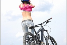 Girls and bike