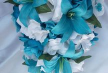 Dolphin colors Linens, Centerpieces, Shares