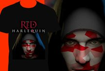 The Red Harlequin T-Shirts