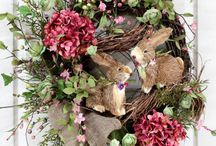 Pinteresting Stuff (wreaths and door decorations) / by Kay Waggener