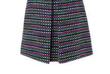 Curvy cool bright dark skirts