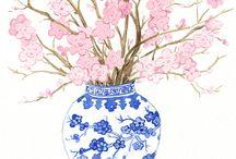 Flowers / Illustrations, art, photo