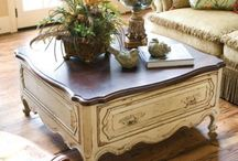 coffee table / by Bernadette: That Way By Design