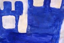 6.lk maalaus / Vuoden teemana erilainen näkökulma / kurkistus - murrettu- ja pastelliväri - pastellimaalaus - valööri / taittaminen / syvyysvaikutelma - värien käyttö ja symboliikka  - väripsykologia