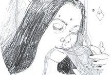 ilustrace / věci, co jsem stihla nakreslit
