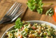 salades taboulé
