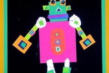 art=creative daycare projects / by Julie Jones