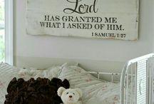 Baby boy's room.
