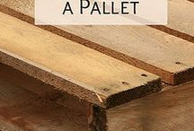 Pallets / Ideas con pallets