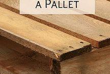 Pallets / Ideas con pallets
