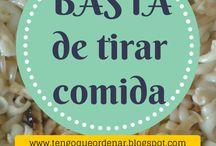 Tengo que ordenar! / Posts de mi blog #TengoQueOrdenar sobre orden, organización de espacios, limpieza, cocina, etc.