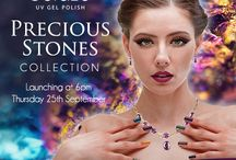 Gelaze® UV Gel Polish Precious Stones Colour Collection / Beautiful Autumn & Winter Gelaze® Gel Polish Shades that will make you impatient for the cold weather to arrive http://www.essentialnails.com/product/449/package_gelaze_pst/eng/gelaze-precious-stones-collection.html