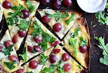 Great Brie pizza