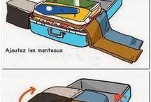 faire une valise