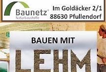 Lehmbau Tage Pfullendorf BauFachForum Baulexikon Seepark / Bauen mit Lehm aus Pfullendorf.