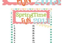 Things to do in spring or summer / by Cathy Garcia