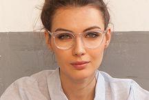 Gafas montura transparente